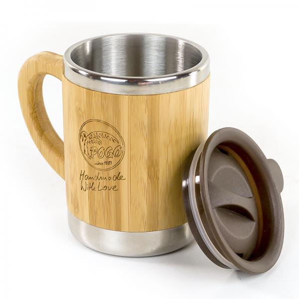 POGO Bamboo Coffee Mug