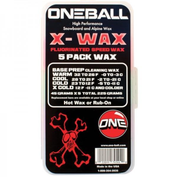 ONEBALLJAY X-Wax 5 Pack Snow Wax