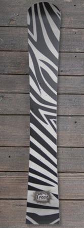 Pogo Snowboards - Impact handbemalt zebra design