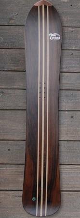 Pogo Snowboards - Longboard 180 mit Triple Holz Stringer