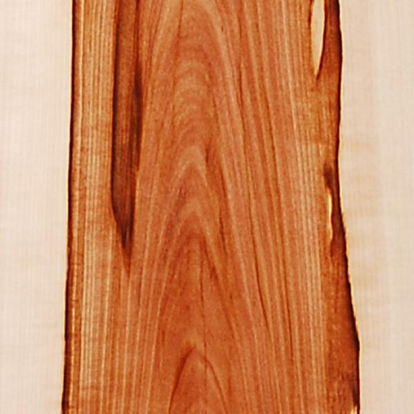 Wilder Apfelbaum - Custom Holzfurnier Snowboard