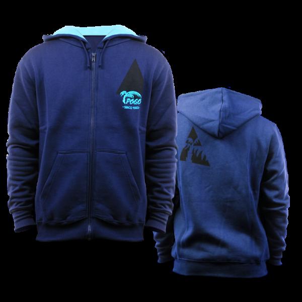Pogo Hoodie Zipper - Navy Blue