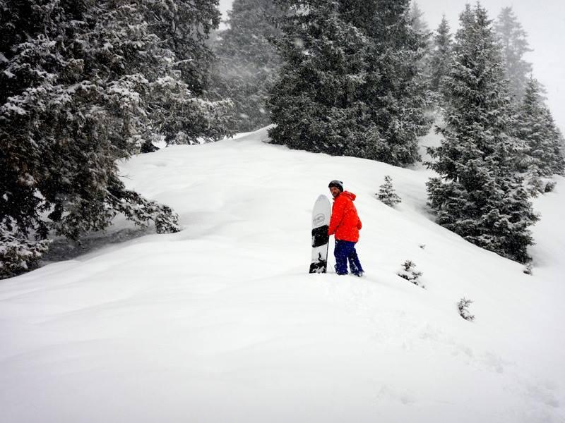 Pogo Powder Snowboarding