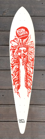 Pogo Sonder Design Skateboard speedneedle indianer