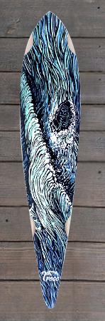 Pogo Sonder Design Skateboard speedneedle welle