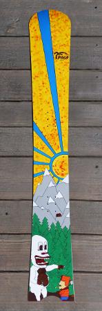 Pogo Snowboards Sonderdesigns - jeti