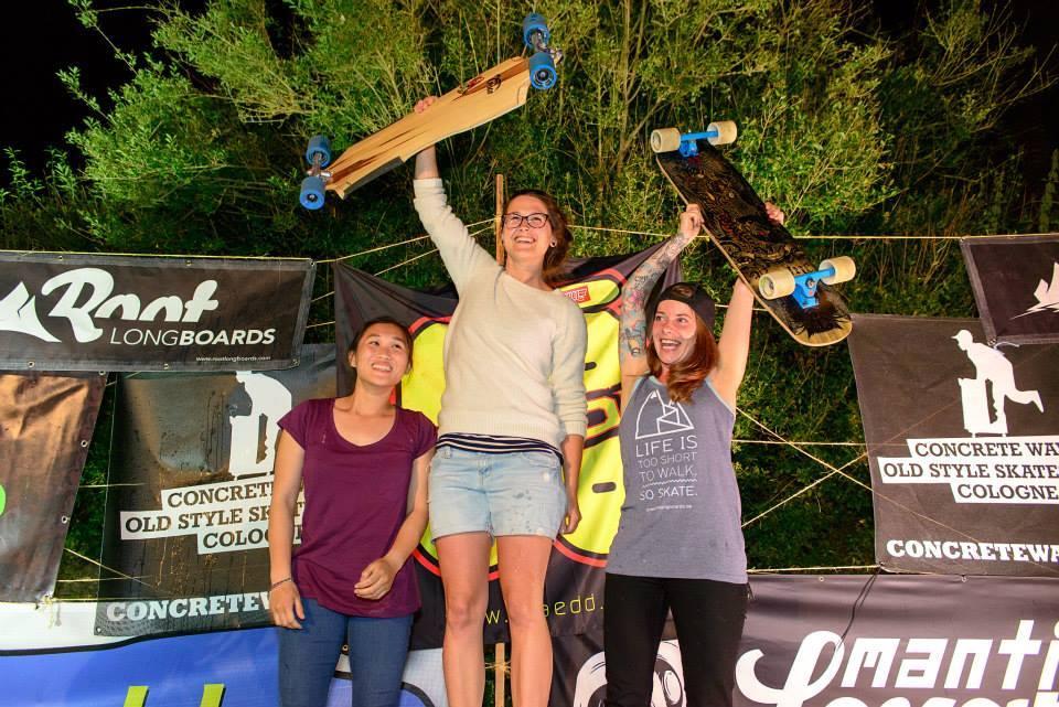 Tina Zobel Pogo Longboard Team Deutsche Meisterin 2015